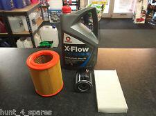 HONDA CIVIC MK7 TYPE R 2.0 SERVICE KIT OIL AIR CABIN FILTERS COMMA OIL 5L XFLOW