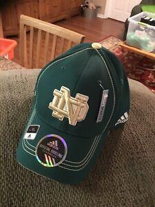 Notre Dame Fighting Irish NCAA Adidas Flex Fit Cap L/ XL NWT Free Shipping