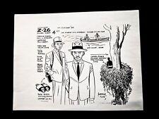 Jonny Quest (1964 Series) Quetong Policeman Archival Model Sheet Alex Toth