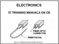 Electronics Training Courses - 57 Manuals on Cd