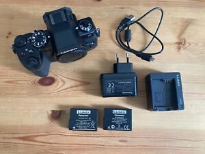 Panasonic LUMIX DMC-G81EG-K Spiegellose Systemkamera (Nur Gehäuse) Neuwertig