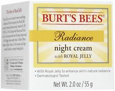 Burt's Bees Radiance Night Cream w/ Royal Jelly 2.0 oz STORES CLOSING! GR8T DEAL