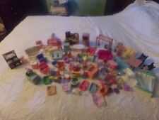 HUGE LOT OF 68 PIECES OF LOVING FAMILY DOLLHOUSE FURNITURE