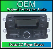 Dacia Duster CD player with USB AUX in, Dacia car stereo + code AGC-0060RF