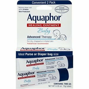 Aquaphor Baby Advanced Therapy Healing Ointment, 0.35 oz, 2 Ct (3 Pack)