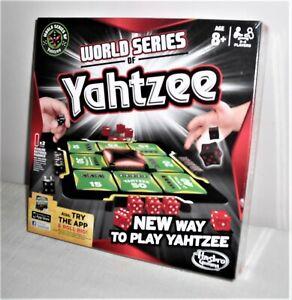 Hasbro World Series of Yahtzee Game - A New Way To Play Yahtzee - New & Sealed