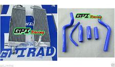 GPI aluminum radiator + HOSE Honda CR500 CR500R CR 500 R CR 500R 1989 89