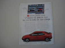 advertising Pubblicità 1996 CITROEN XANTIA ACTIVA