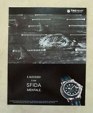 E742- Advertising Pubblicità -1995- TAG HEUER SERIE 6000 CHRONOMETER