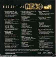 RARE 70's 80's CD MEGADISCO MIX last night DJ saved my life BORN TO BE ALIVE