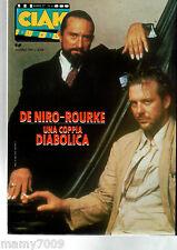 MAGAZINE=CIAK=N°6 1987=ANGEL HEART DE NIRO-ROURKE