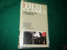 They Made Me A Criminal New VHS Tape Movie Sealed FILM factory sealed classic
