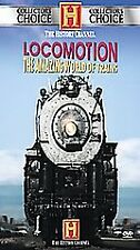 Locomotion The Amazing World of Trains DVD History Channel, 2 Disc Documentary