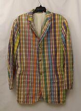 Polo By Ralph Lauren Size Medium Plaid Blazer Jacket