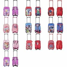 New Children's Character Deluxe Wheeled Trolley Suitcase-Back Pack, Travel Bag