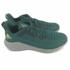 Adidas Alphabounce+ Running Shoes Men's Size 15 Green EF1228