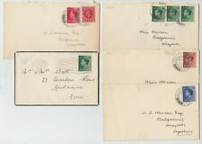Lot of 5 Edward VIII Covers Envelopes - Four First Day - FDC