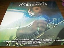Carl Perkins-The Greatest Hits Of-LP-Harmony-KH 31792-Vinyl Record-VG+
