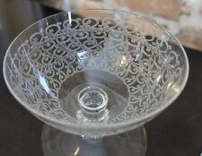 "Vintage Baccarat Set of 2 ROHAN 3"" Inch Port WINE CLARET Goblet Cut Glass Pair"