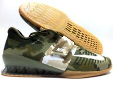 NIKE ROMALEOS 3 WEIGHTLIFTING SHOE OLIVE CANVAS/SAIL SIZE MEN'S 15 [852933-300]