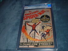 AMAZING SPIDER-MAN #1 / MARCH, 1963 / CGC 2.0 / UNIQUE HOLIDAY GIFT  /  KEY !!