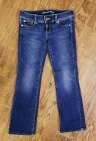 Women's 4 Short American Eagle AE Stretch Slim Boot Cut Denim Jeans (30 x 28)