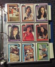 1977 CHARLIE'S ANGELS Topps Trading Card LOT of 38 w/ 5 Stickers VF/NM