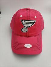 NHL St Louis Blues Ladies Pink Sparkle Hat NWT