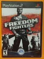 Freedom Fighters PS2 Playstation 2 COMPLETE Game 1 Owner  Mint Disc