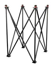 Black ash professional collapsible Carrom Board stand