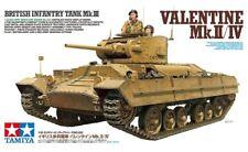Tamiya 35352 - 1/35 British Infantry Tank Mk.III Valentine Mk.II/Iv - Neu