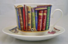 Roy Kirkham Creative Writing Books Large 450ml Breakfast Cup &Saucer China Gift
