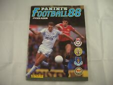 Panini Football 88 Sticker Album Empty