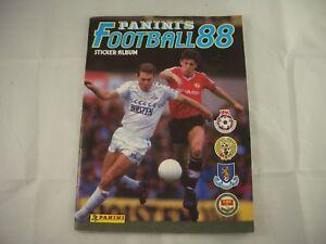 Panini Football 88 Sticker Album Empty