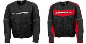 Scorpion EXO Eddy Mesh Motorcycle Textile Jacket Mens