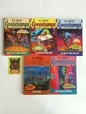 Rl Stine Goosebumps Original Series 3 Book Lot Vol. 40, 42, 43, 45, 46 1st Ed
