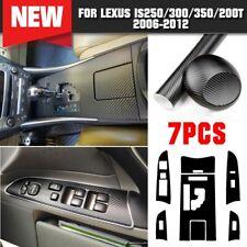 Carbon Fiber Gear Shift Box Panel Trim Cover For LEXUS IS250 300 350 2006-2012