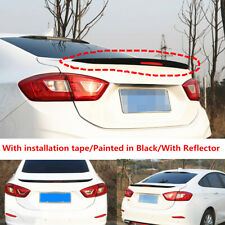 Glossy Black Factory Trunk Spoiler Wing Fit For Chevy Cruze Sedan 2017 2018 2019 Fits Cruze
