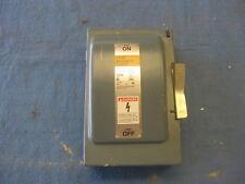 Used Ite Siemens Enclosed Switch 60 Amp 240v Non Fused Genduty Vacu Break