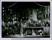 LG783 Original Photo LE BOHEME Puccini Metropolitan Opera Performance Stage