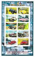 Bloc Feuillet 2000 N°30 Timbres Collection Jeunesse - Voitures Anciennes