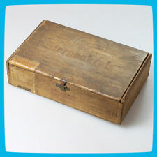 STERNENKREIS Germany WW2 Tobacco Wooden Storage Box Casket Chest Case Tray Jar