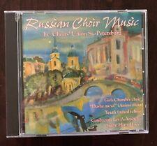 Russian Choir Music Choirs' Union St. Petersburg CD