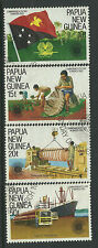 PAPUA NEW GUINEA 1983 COMMONWEALTH DAY 4v Fine Used