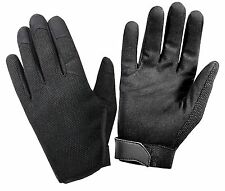 Mens Spandex & Leather Ultra-Light High Performance Work Duty & Everyday Gloves