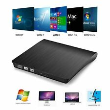Slim USB 3.0 External DVD RW CD RW Drive DVD±RW DVD Drive Burner DVD Rewriter