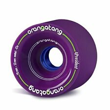 Orangatang 4 President 70 mm 83a Cruising Longboard Skateboard Wheels Purple ...