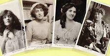 ☆ EDWARDIAN THEATRE / MUSIC HALL ACTRESS / DANCER ☆ 1900s Postcards LIST 51