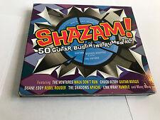 Various Artists : Shazam! 50 Guitar Bustin Instrumentals (2CDs) (2011) EX/EX