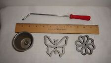 Metal candy cookie & cupcake press & designs butterfly snowflake cupcake
